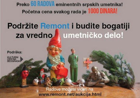 Donatorska aukcija za Remont