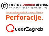 domino, perforacije, queer zagreb